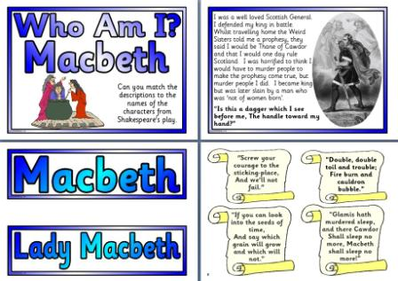 instances of macbeth s ambitions The macbeth witches are essential to the play's plot because their prophecies drive macbeth's thirst for power and influence lady macbeth.