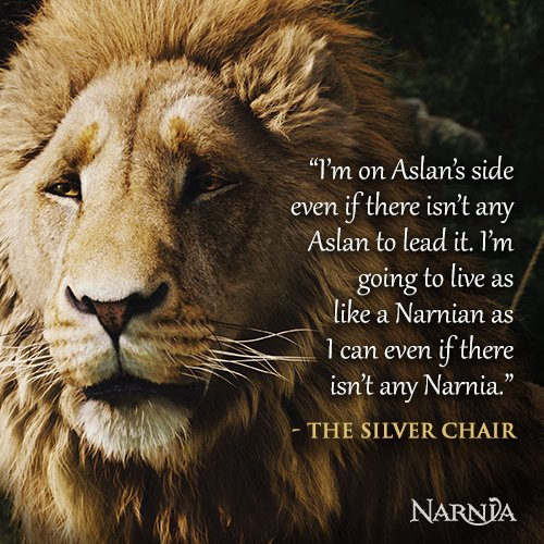 Chronicles Of Narnia Best Quotes Quotesgram