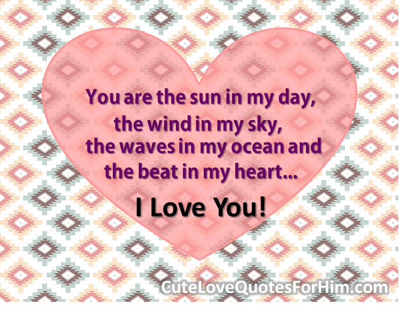 A Simple I Love You Quotes : Simple I Love You Quotes. QuotesGram