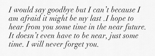 Ill Never For Get You Quotes. QuotesGram