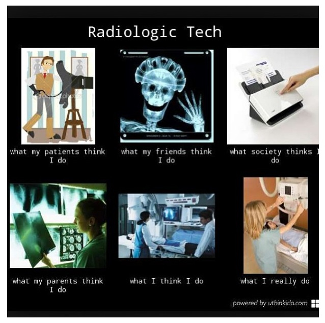 Radiology Technician i want the top