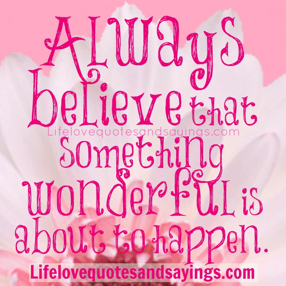 Quotes And Sayings: Believe Quotes And Sayings. QuotesGram