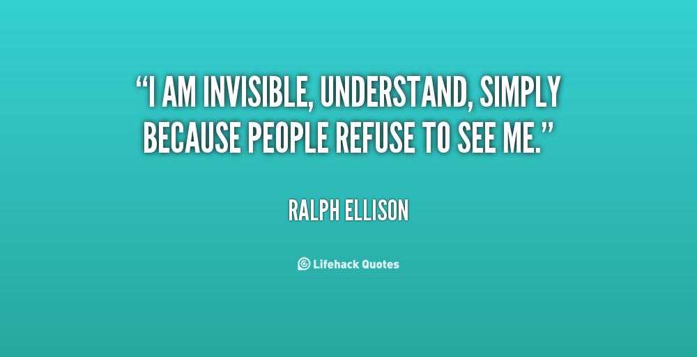 Ellison invisible man