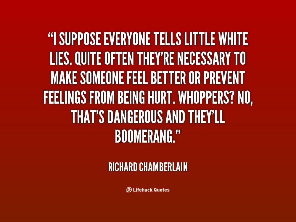 White Lies Quotes. QuotesGram