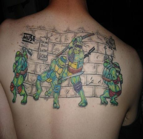 Old turtle quotes quotesgram for Ninja turtles tattoo