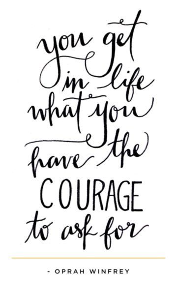 Inspirational Quotes On Pinterest: Courage Oprah Winfrey Quotes. QuotesGram