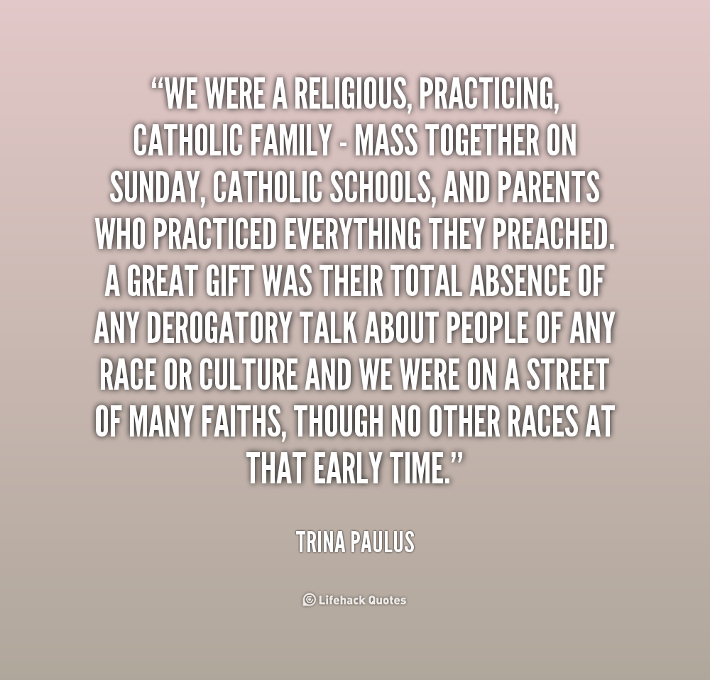 Inspirational Quotes About Positive: Religious Family Quotes. QuotesGram