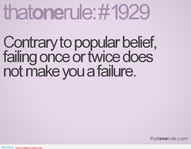 Quotes About Feeling Like A Failure. QuotesGram