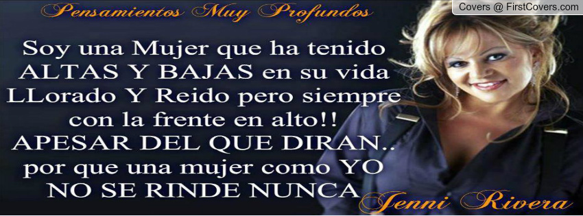 jenni rivera quotes or sayings in spanish - photo #15