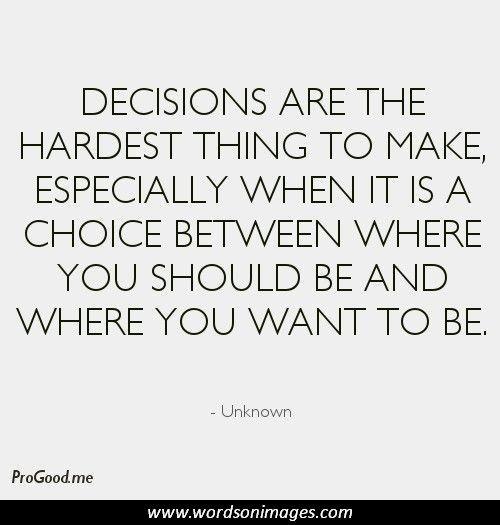 Decision Making Quotes: Effective Decision Making Quotes. QuotesGram