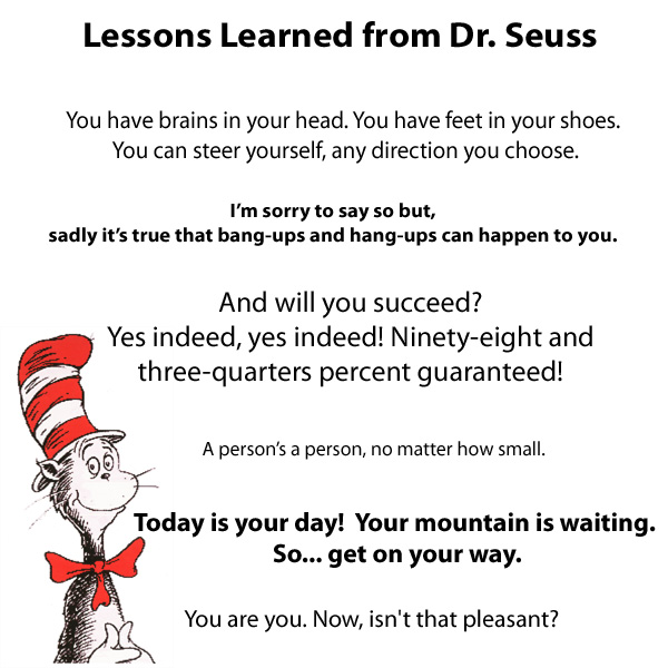 Dr Seuss Birthday Quotes Quotesgram