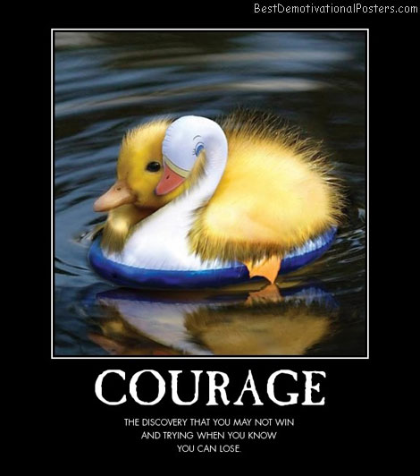 Funny Scared Quotes: Funny Courage Quotes. QuotesGram