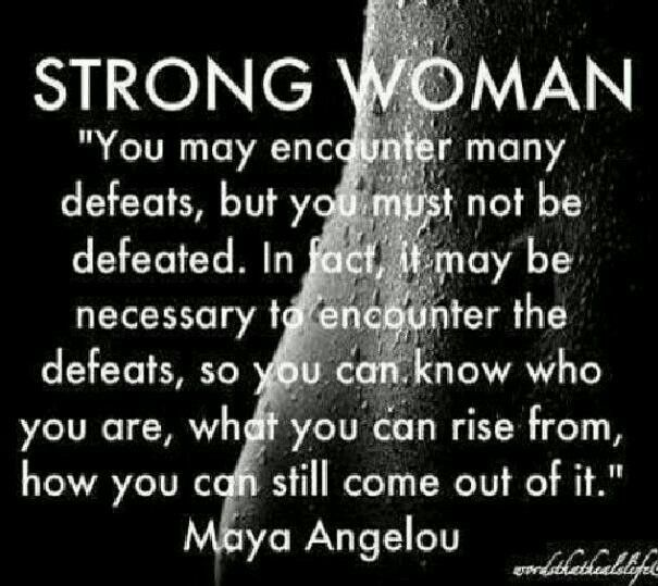 Poem strong woman The Strength