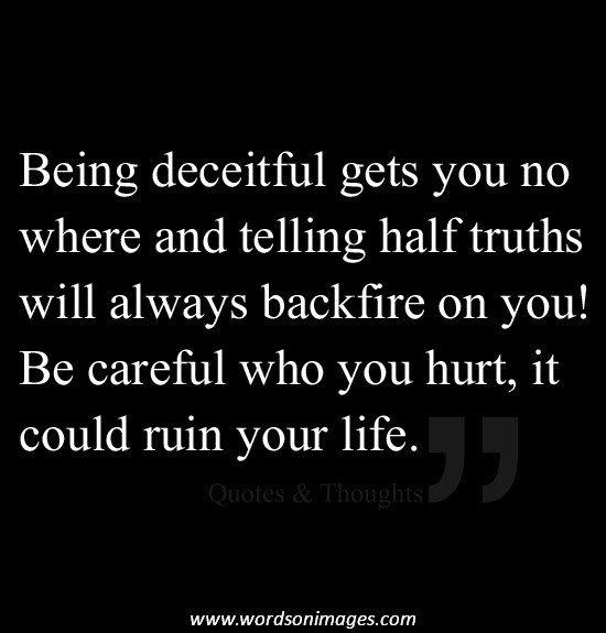 quotes about deceit quotesgram