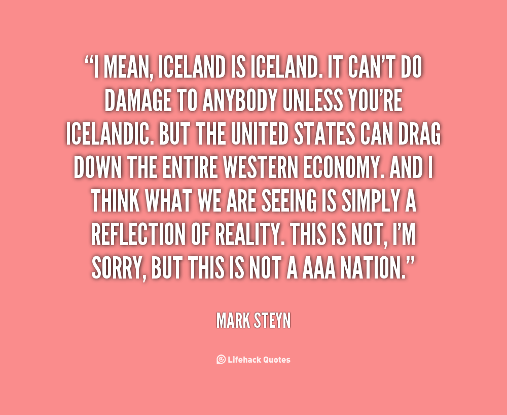 Iceland Quotes. QuotesGram