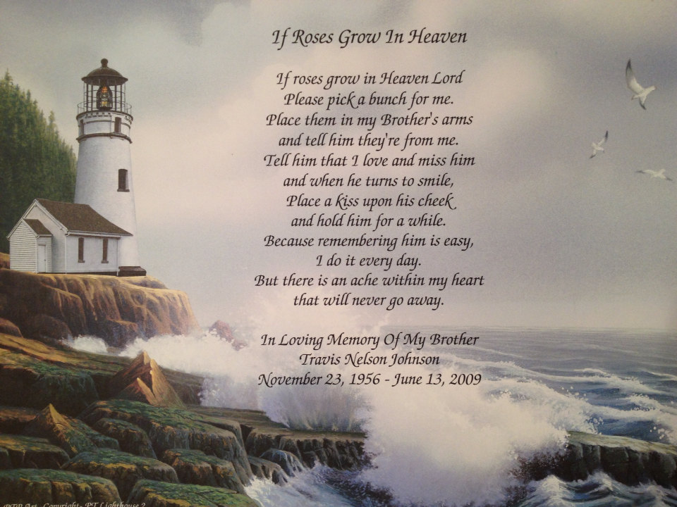 Birthday Brother In Heaven Quotes. QuotesGram