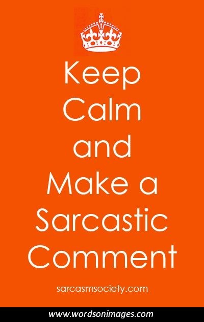 how to say sarcastic in spanish