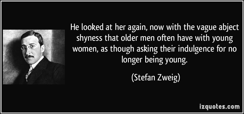 Dating an older man quotes