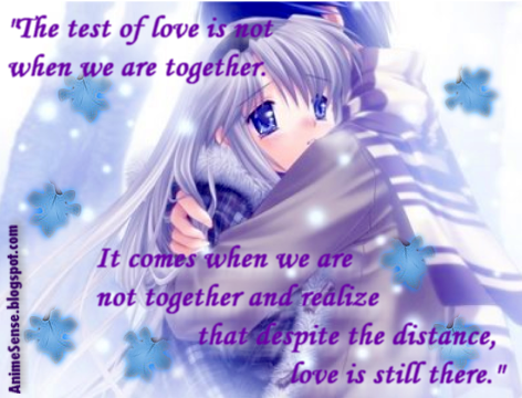 anime love quotes quotesgram