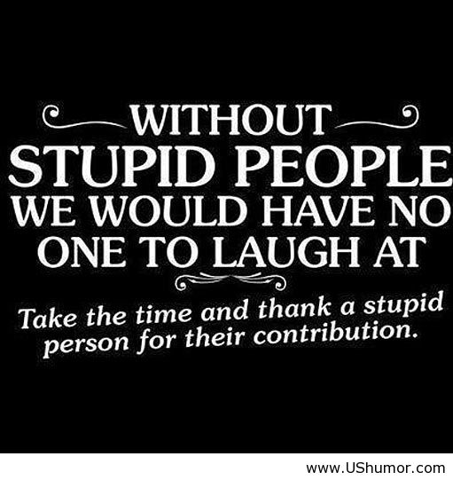 Famous Stupid Quotes: Famous Quotes About Stupidity. QuotesGram