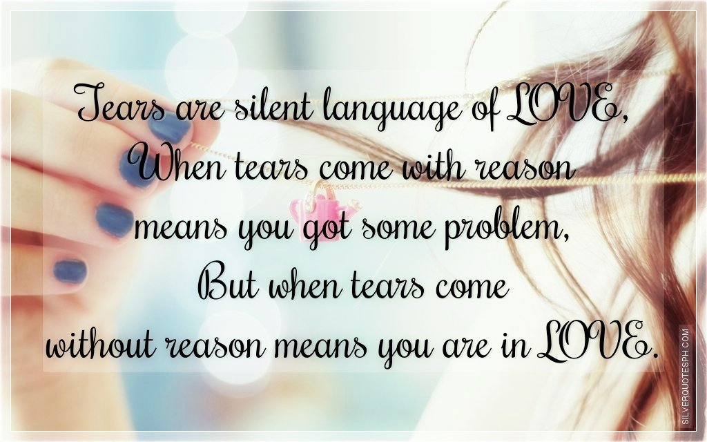 quotes about silent tears quotesgram