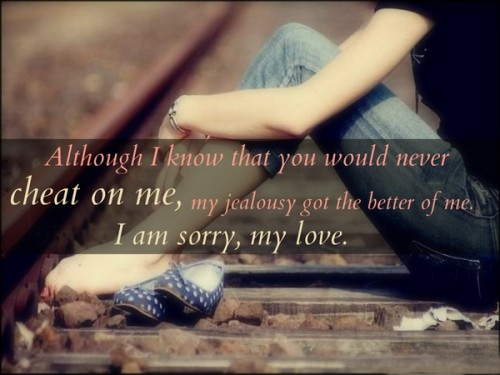 Quotes you sorry i cheated on 15 Surviving
