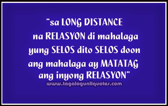 Cute Distance Love Quotes Tagalog. QuotesGram