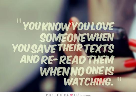 how to know you love someone quotes