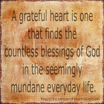 give thanks with a grateful heart bible verse