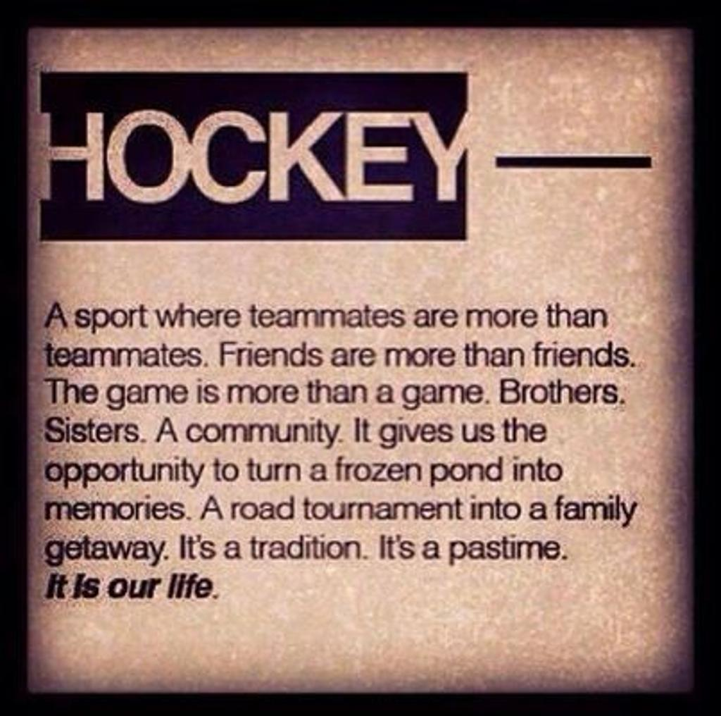 Motivational Quotes For Sports Teams: Hockey Team Quotes Inspirational. QuotesGram