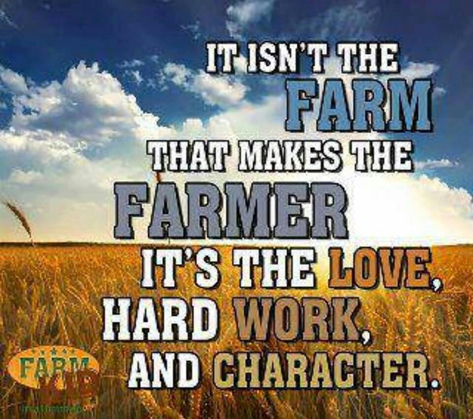 Farming Quotes: Inspirational Quotes For Farmers. QuotesGram