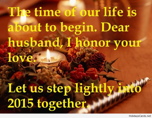 Happy New Year To My Husband Quotes. QuotesGram
