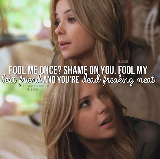 Pretty Little Liars Quotes: Pretty Little Liars Quotes Hanna. QuotesGram