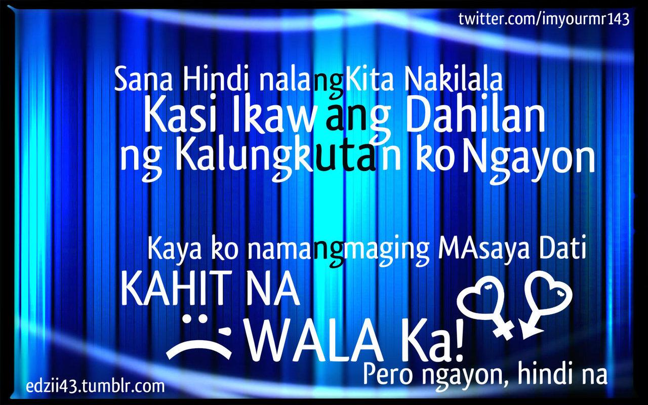 Twitter Quotes Tagalog Patama: Tagalog Quotes Patama Sa Ex. QuotesGram