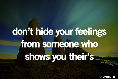 Quotes About Hiding Your Feelings. QuotesGram