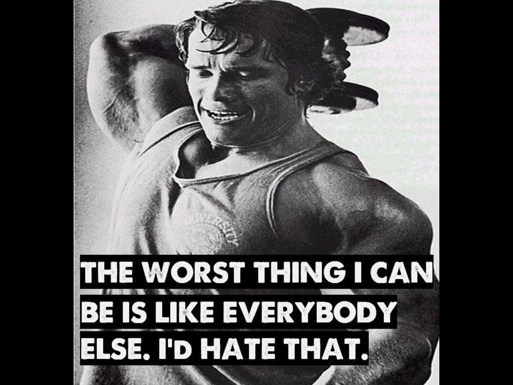 Arnold Schwarzenegger Quotes Quotesgram
