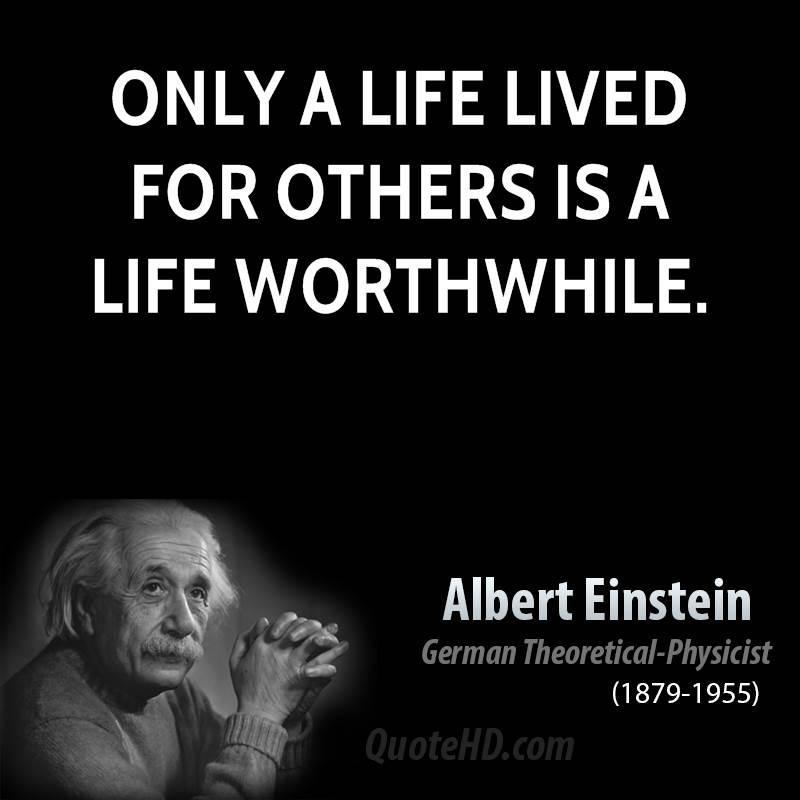 Life Quotes By Albert Einstein. QuotesGram