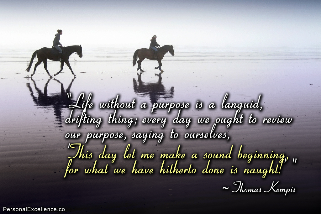 Famous Quotes About Purpose. QuotesGram