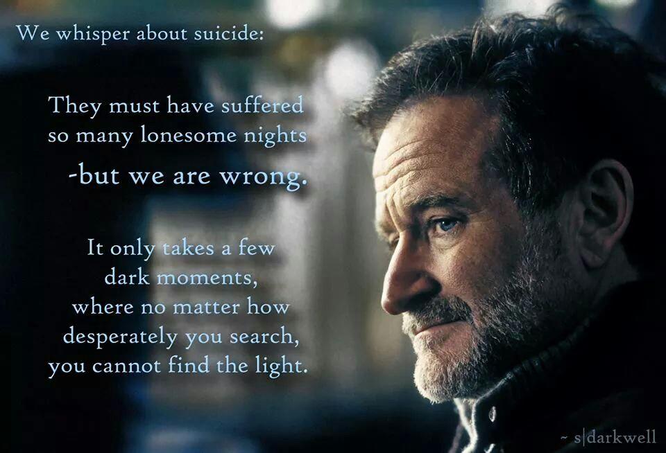 Robin Williams Quotes About Depression. QuotesGram