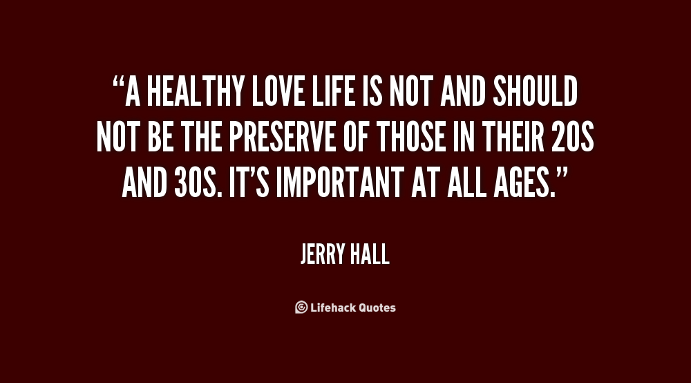 Living A Healthy Lifestyle Quotes Quotesgram