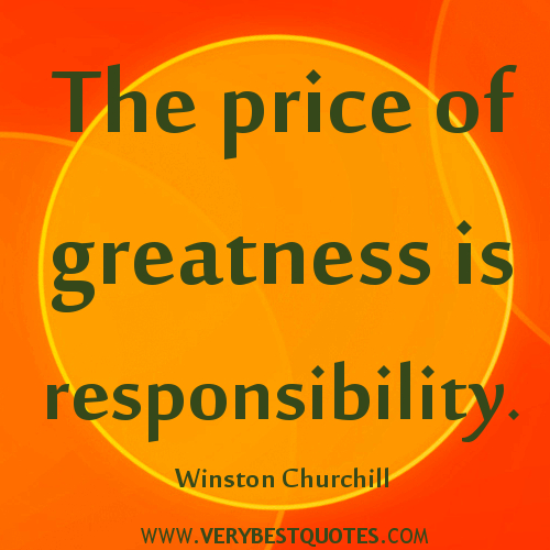 responsibility quotes for students quotesgram