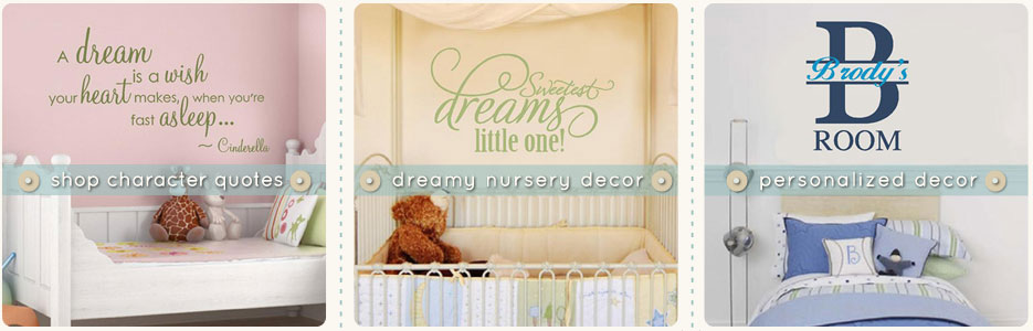 Baby Nursery Wall Decor Sayings : Baby wall quotes quotesgram