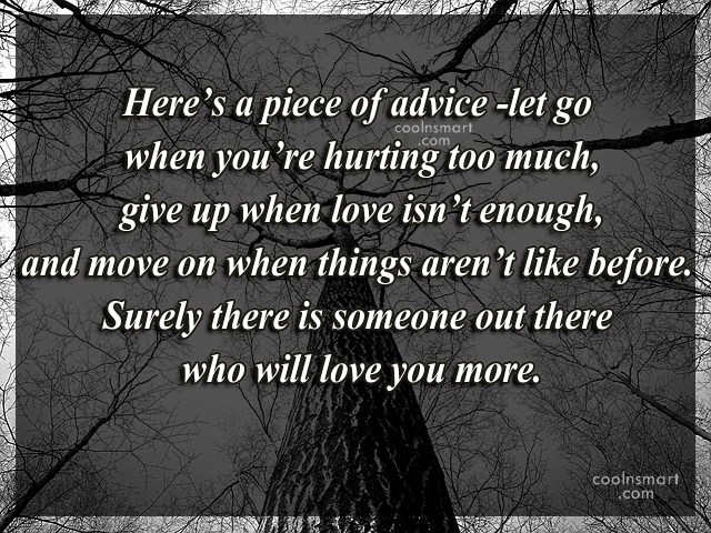 Inspirational Quotes To Lift Your Spirit After A Harsh Day: Quotes Break Up Advice. QuotesGram