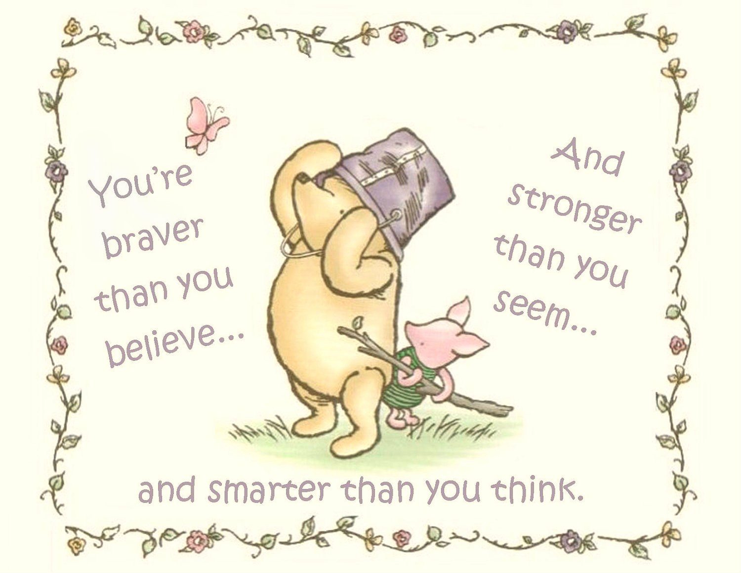 Classic Pooh Quotes Desktop Wallpaper Quotesgram