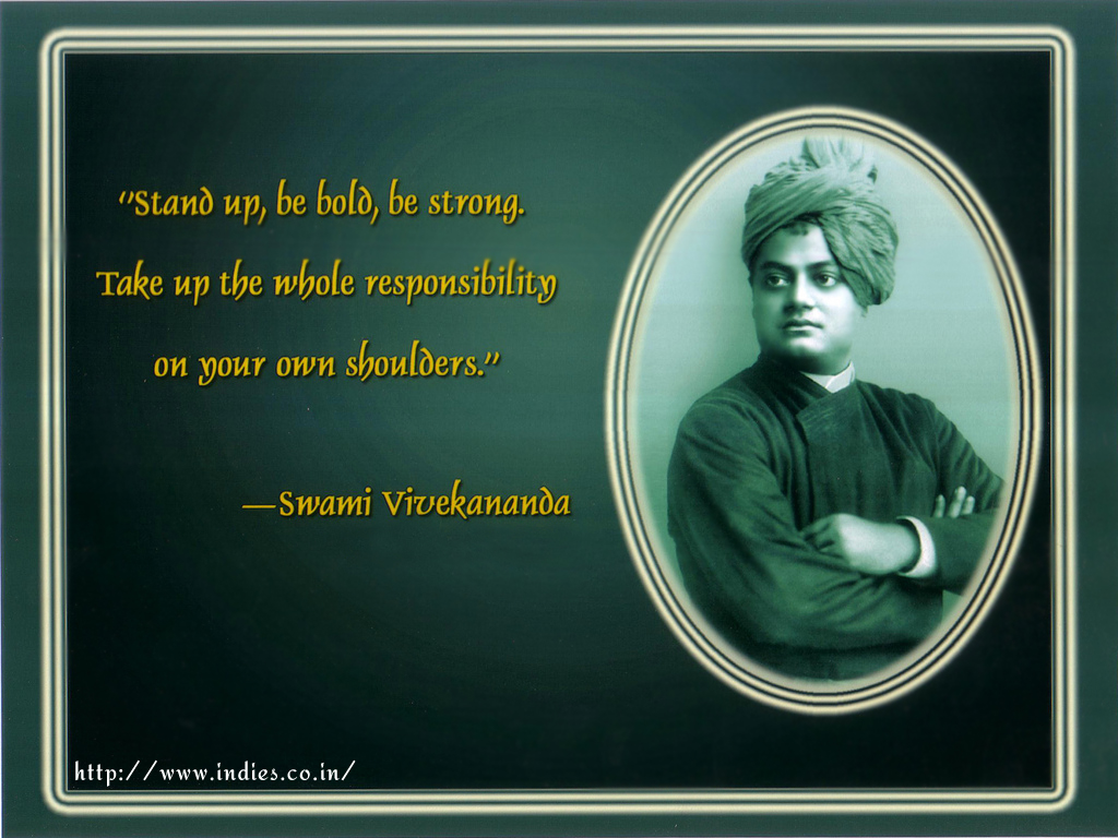 Swami Vivekananda Quotes Wallpapers. QuotesGram