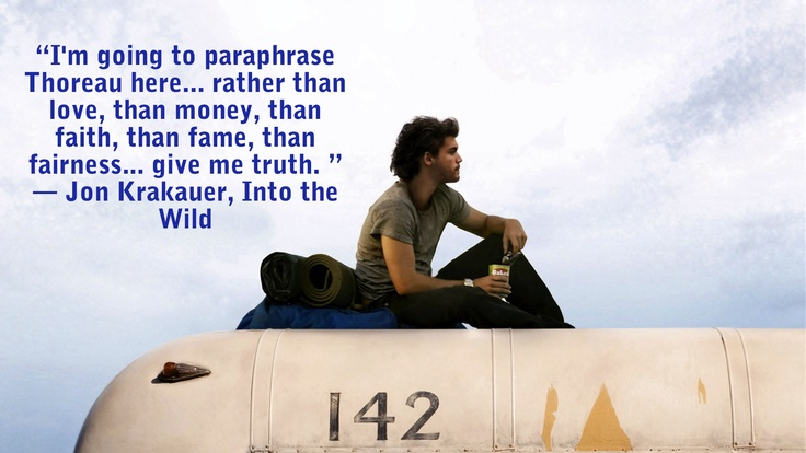Wild At Heart Quotes Quotesgram: Into The Wild Famous Quotes. QuotesGram