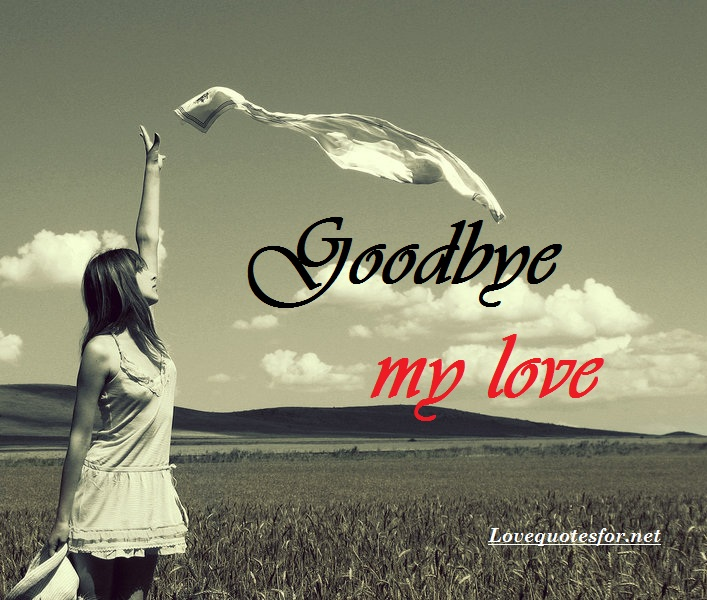 Quotes About Love: Goodbye Love Quotes For Him. QuotesGram