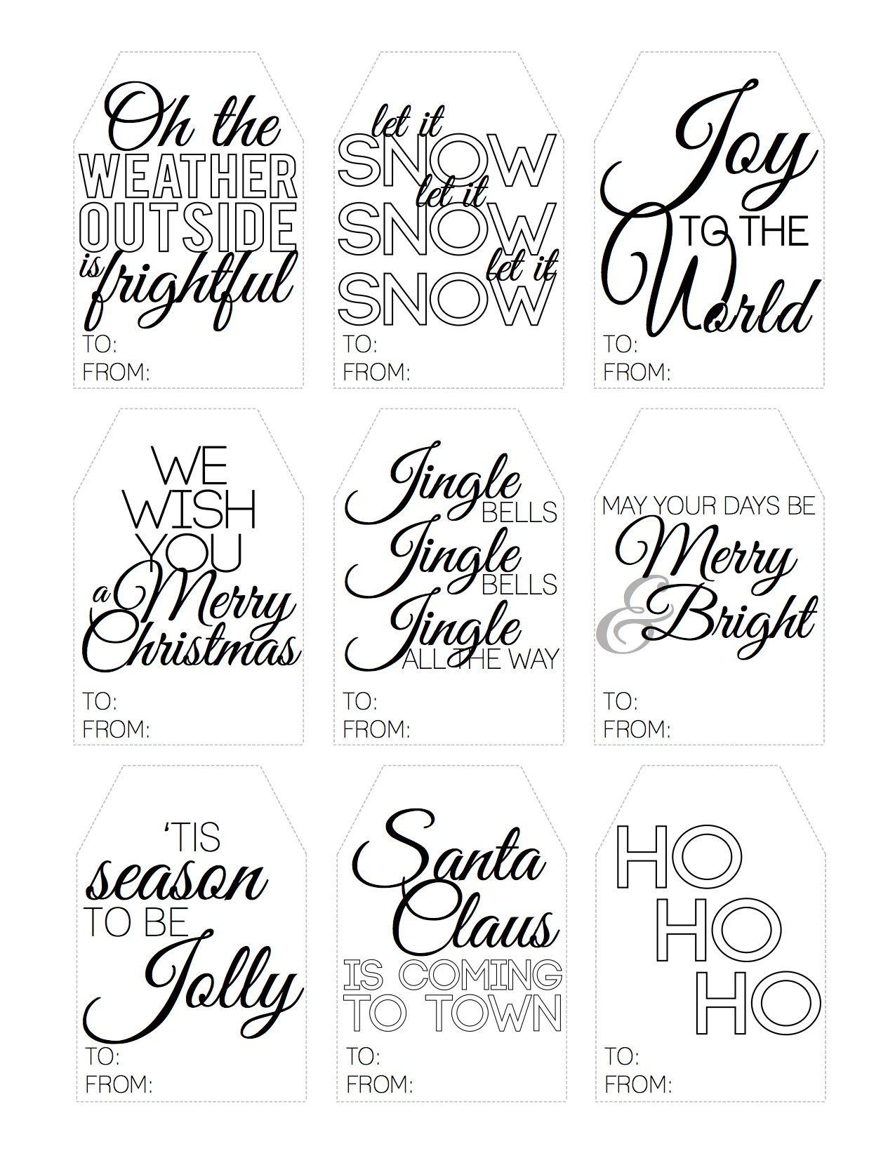 Christmas Gift Tag Quotes. QuotesGram