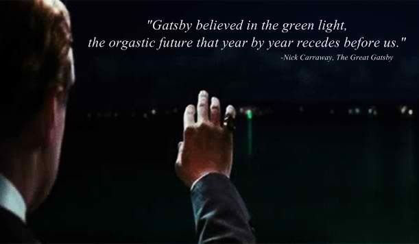 great gatsby essays green light