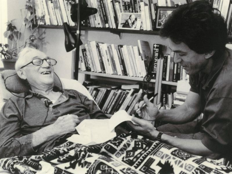 Morrie and The Meaning of Life: Tuesdays with Morrie Encourages Living While Dying